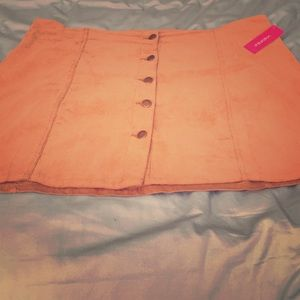 In time for Fall:  NWT Beige corduroy skirt